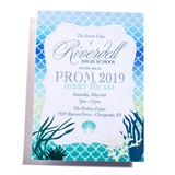 Underwater Crest Invitation