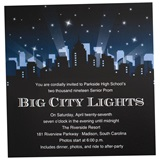 Big City Skyline Invitation