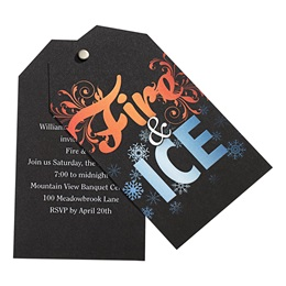 Fire and Ice Twist Invite