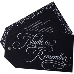 Night to Remember Twist Invite