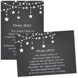 Dangling Stars 4 x 6 Invitations