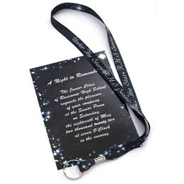 Invitation & Lanyard Set - Twinkle Stars