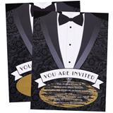 Scratch-off Invitation - Tuxedo