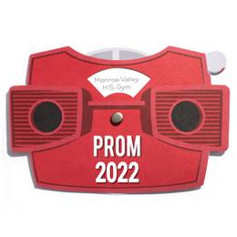 View Finder Spinner Prom Invitation