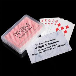 Ticket and Playing Cards Favor Set