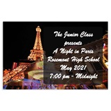 Full-color Ticket - Paris Nights