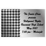 Full-color Ticket - Silver Houndstooth