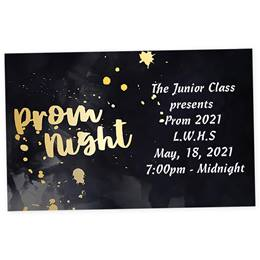 Prom Night Splash Ticket