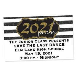Full-color Ticket-Gold 2021 Prom Crest