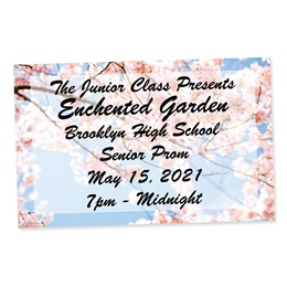 Full-color Ticket-Blossom Branches