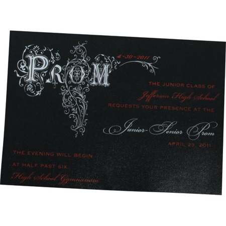 Prom Filigree Invitation