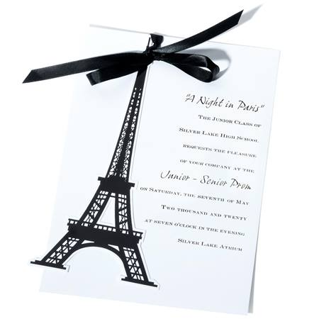 Eiffel Elegance Invitation