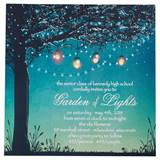 Lanterns in the Garden Invitation