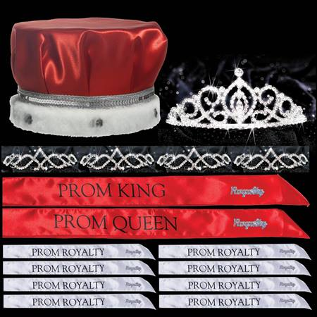 Prom Coronation Set with Pins - Cameo Perfect/Kyla