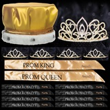 Prom Coronation Set with Pins - Gold Adele/Chelsey
