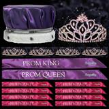 Prom Coronation Set with Pins - Rose Gold Cassandra/Kiley