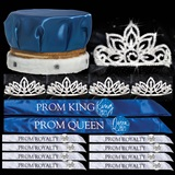 Prom Coronation Set with Buttons - Falling Star/Toni