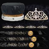 Classic Coronation Set - Black/Gold