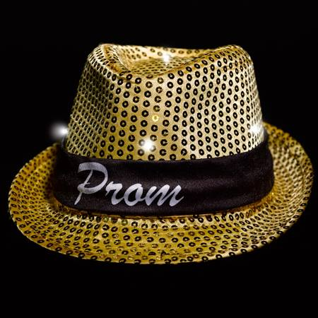 Light-up Fedora With PROM Band