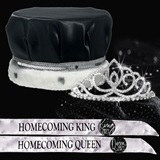 Satin Crown, Tiara and Sash Homecoming Set - Sharona Tiara