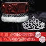 Metallic Crown, Tiara and Sash Homecoming Set - Agnus Tiara