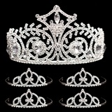 Prom Tiara Set - Elsa Queen and Francine Court