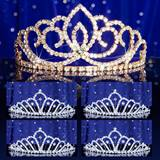 Prom Tiara Set - Gold Sasha Queen and Karen Court