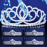 Prom Tiara Set - Sasha Queen and Cleo Court
