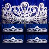 Prom Tiara Set - Esmeralda Queen and Cleo Court