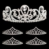 Prom Tiara Set - Esmeralda Queen and Karen Court
