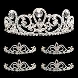Prom Tiara Set - Esmeralda Queen and Arilda Court