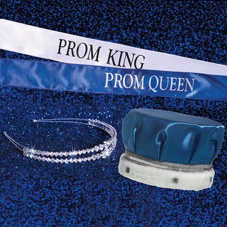 Abigayle Tiara, Sash, and Crown Set