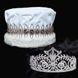 Elsa Tiara and Velvet Crown Set