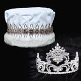 Penelope Tiara and Velvet Crown Set