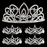 Tiara Set - Adele Queen Tiara and Amara Court Tiaras