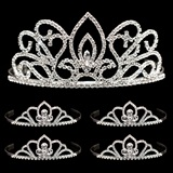 Tiara Set - Adele Queen Tiara and Kayla Court Tiaras