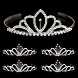 Tiara Set - Chelsey Queen Tiara and Emme Court Tiaras