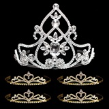 Tiara Set - Kate Queen Tiara and Gold Alisa Court Tiaras