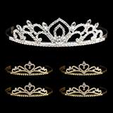 Tiara Set - Kiley Queen Tiara and Gold Alisa Court Tiaras