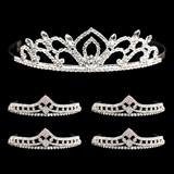 Tiara Set - Kiley Queen Tiara and Cleo Court Tiaras