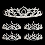 Tiara Set - Kiley Queen Tiara and Amara Court Tiaras