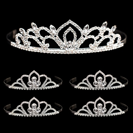 Tiara Set - Kiley Queen Tiara and Kayla Court Tiaras