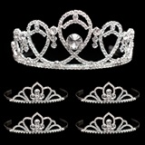 Tiara Set - Kendall Queen Tiara and Kayla Court Tiaras