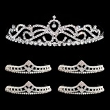 Tiara Set - Ruby Queen Tiara and Cleo Court Tiaras