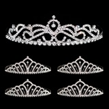 Tiara Set - Ruby Queen Tiara and Karen Court Tiaras