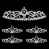 Tiara Set - Ruby Queen Tiara and Emme Court Tiaras