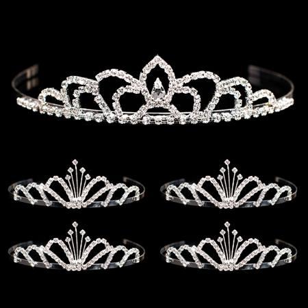 Tiara Set - Sissy Queen Tiara and Emme Court Tiaras