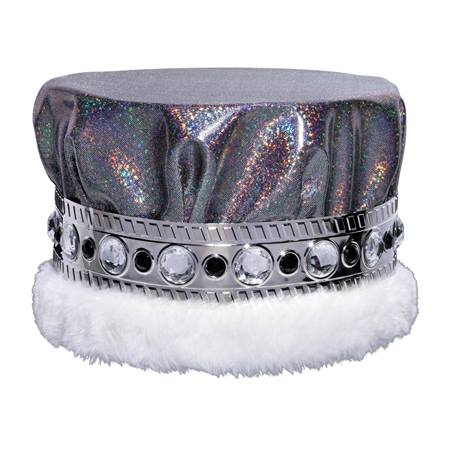 Black/Silver Glitter Dusk Crown - Jeweled Band