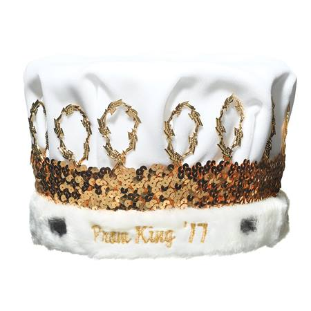 Prom King '16 Crown With Gold Band