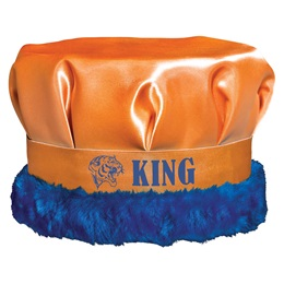 Custom Crown With Colored Fur